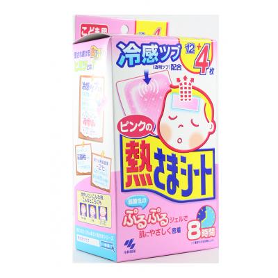 Koyanashi Seiyaku NETSUSAMA SHEET Cooling Gel Pad PINK 16 Pads
