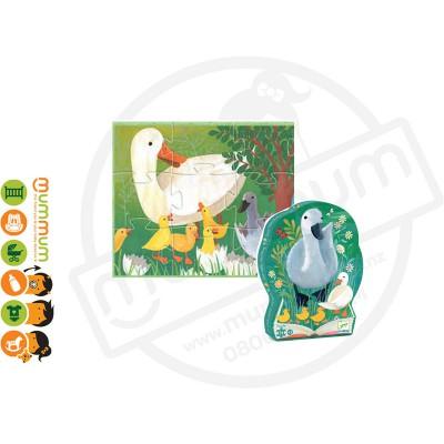 Djeco Puzzle Ugly Duck 24pieces 3Y+
