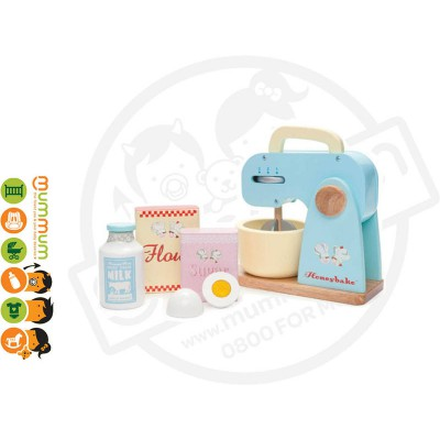 Le Toy Van Honeybake Wooden Mixer Set 3Y+