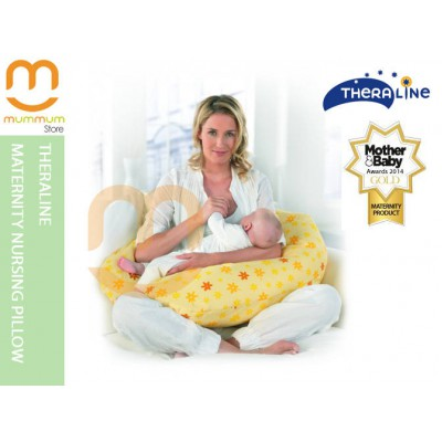 Theraline Maternity Cushion - Yellow Flowers
