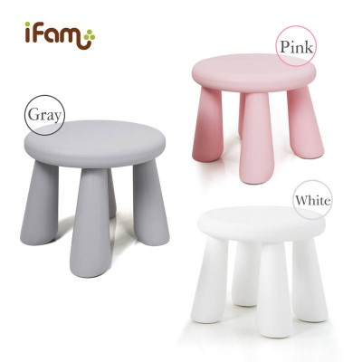 iFam Easy Doing Stool / Chair GREY -height 28cm
