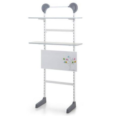 Kid2youth Standing Shelf Unit White