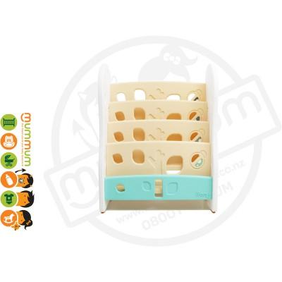 iFam DESIGN Open Book Shelf 4 Level Beige L80xD36xH92 Made in Korea