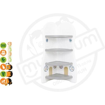 iFam DESIGN Toy Organizer 3 (GREY) L42xD36xH91 Made in Korea