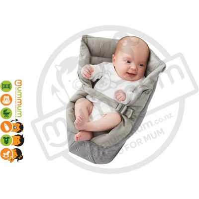 Ergobaby Infant Insert Cool Mesh Grey 100% Cotton