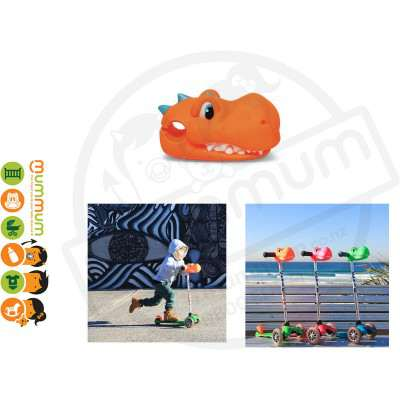 Cheekyscoots Dino Orange For Micro Scooter Cool Stuff Gift Ideas