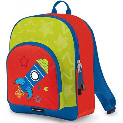 Crocodile Creek Everyday Kid's Backpack Rocket