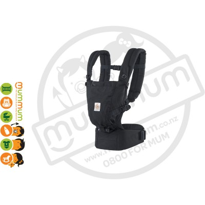 Ergobaby adapt carrier black no insert needed from New Born
