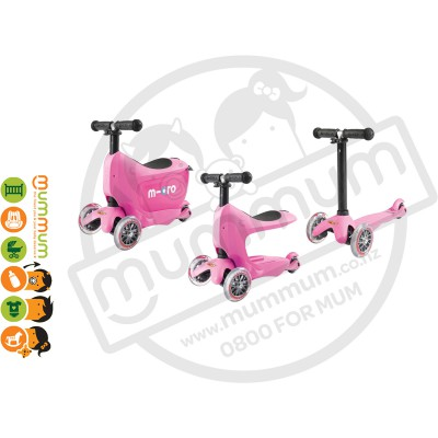 Micro Scooters Mini2go Pink