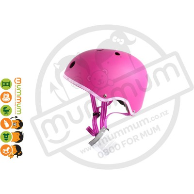 Micro Helmet Raspberry Medium