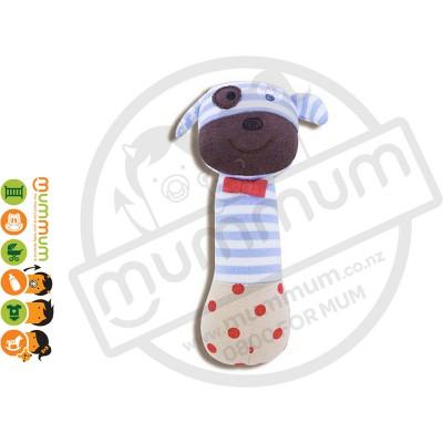 Apple Park Organic Farm Buddies Boxer Dog Squeaky Toy Hypo-Allergenic