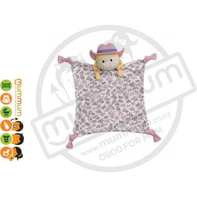 Apple Park Organic Farm Buddies Susie Sunshine Blankie Hypo-Allergenic Comforter