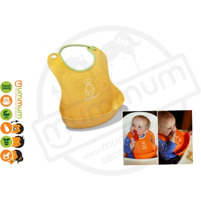 Babybjorn Soft Bib Sunflower Best Feeding Bib Easy Wash One Last Forever