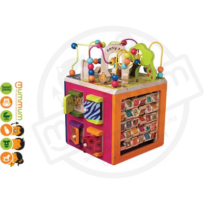 Battat B Toys Zany Zoo Activity Cube Best Toys For 1-4Y