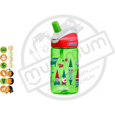 CamelBak Eddy Water Bottle Gnomes 400ml BPA Free Non Spill Straw
