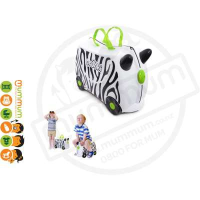 Trunki Ride On Case Zimba The Zebra