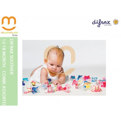 Difrax Soother 12-18 Combi (Assorted Colors)