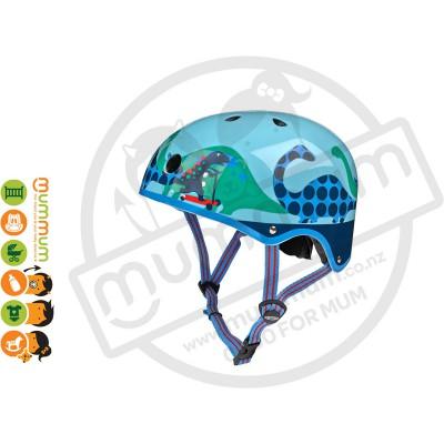 Micro Helmet Saurus Small 48-53cm  Dinosaur Boys
