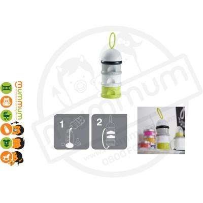 Beaba Stacked Formula/Snack Conatainer (Green)