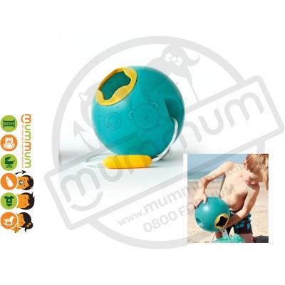 Quut Beach Toy - Ballo Water Bucket (Blue) Beach Toy Sand Toy Less Spill