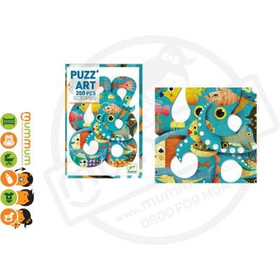 Djeco Puzz'Art  Puzzle - Octopus, 350pcs