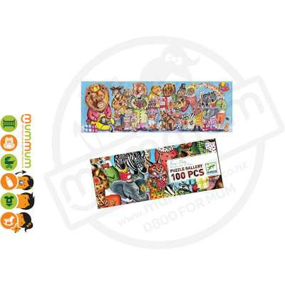 Djeco Puzzle Gallery - Kings Party, 100pcs