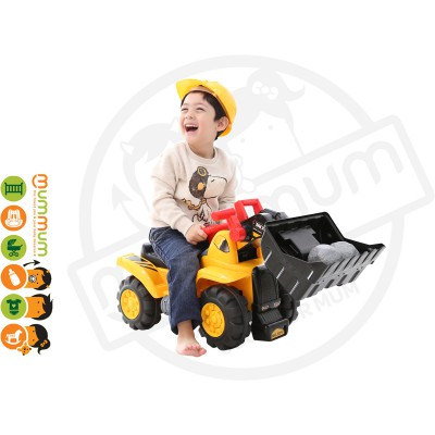iFam Kids Wheel Bulldozer Ride On