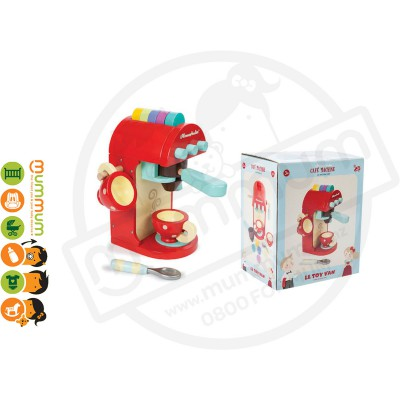 Le Toy Van Café Machine Wooden Toy Set