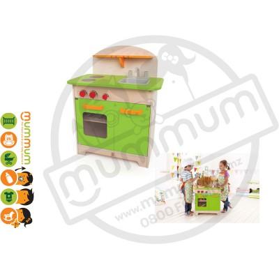 Hape Wooden Gourmet Kitchen Green