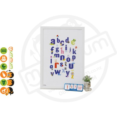 iFam Little Gallery Wall Paper (English Small Letter)