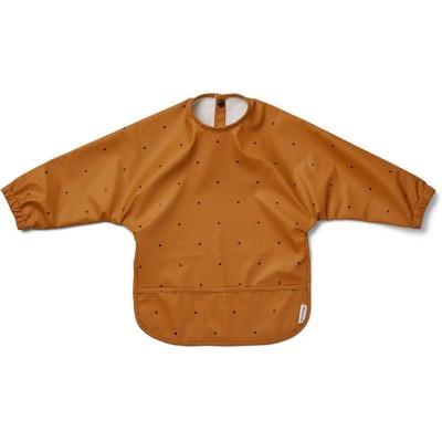 Liewood Merle Cape Bib Classic Dot Mustard
