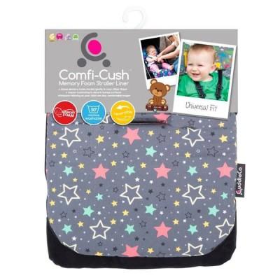 CuddleCo Comfi Cush Buggy Liner Stars Bright
