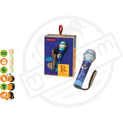 Battat Okideoke Pre-recorded Microphone Musical Kids Toy