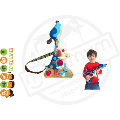 Battat Woofer Hound Dog Guitar Musical Toy