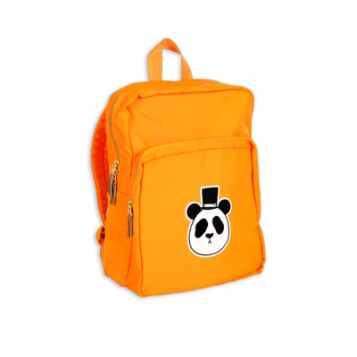 Mini Rodini Panda Backpack - Orange