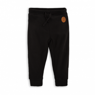 Mini Rodini Fleece Trousers - Black