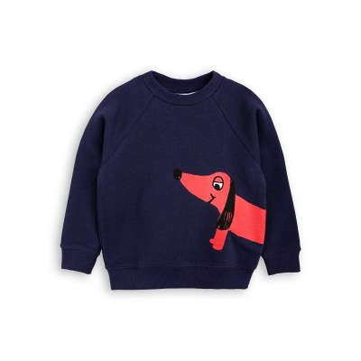 Mini Rodini Dog SP Sweatshirt - Navy