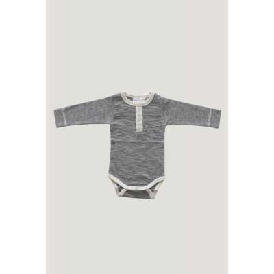 Jamie Kay Strip Bodysuit Oatmeal Navy Meadowland Drop2