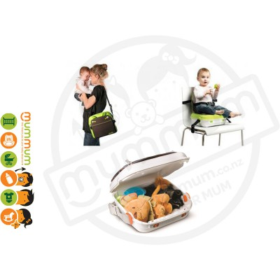 Benbat Yummigo Portable Booster Feed & Go Storage (Green)