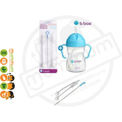 bbox Sippy Cup Replacement Straw & Cleaning Brush