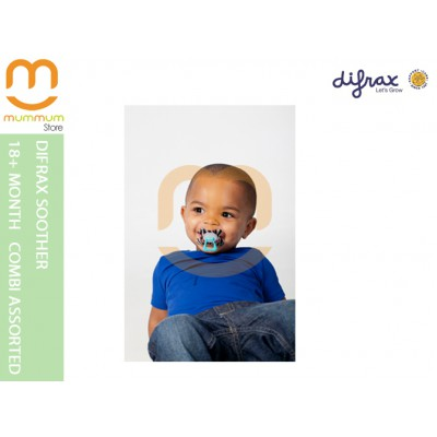 Difrax Soother 18+ Combi (Assorted Colors)