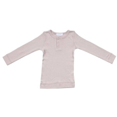Jamie Kay Cotton Essentials Henley Modal Long Sleeve Top