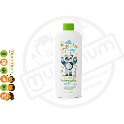 BabyGanics AlcoholFree Foaming Hand Sanitizer Refill 16oz/473ml