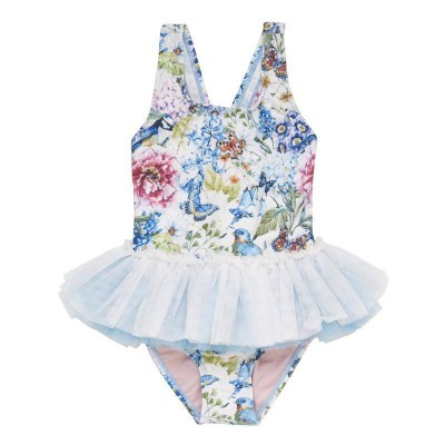 Rock your baby Country Garden Tulle one piece white 12M-7Y Rock Your Kid