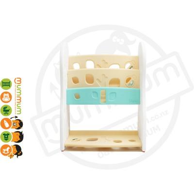 iFam DESIGN Open Book Shelf 2 Level Beige L80xD36xH92 Made in Korea