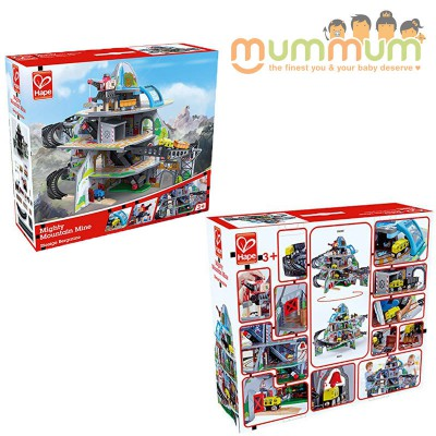 Hape Mighty Mountain Mine Complete Toy Set