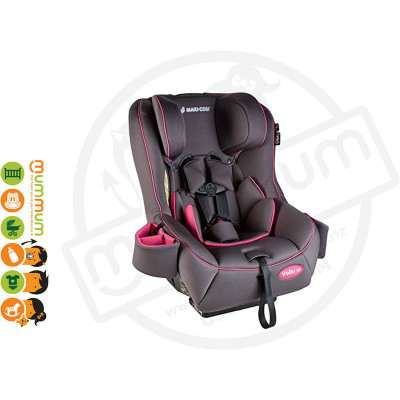 Maxi Cosi Vello 70 Carseat Grey+Pink Up to 70lbs Convertible Seat