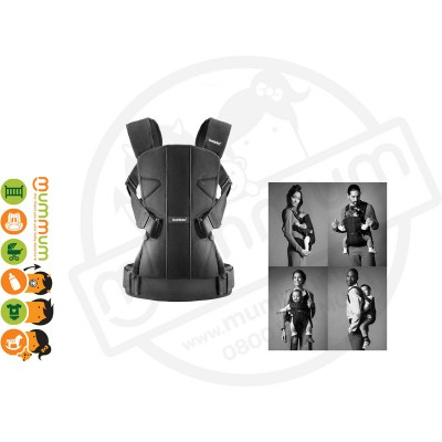 Babybjorn The ONE Black Cotton Baby Carrier