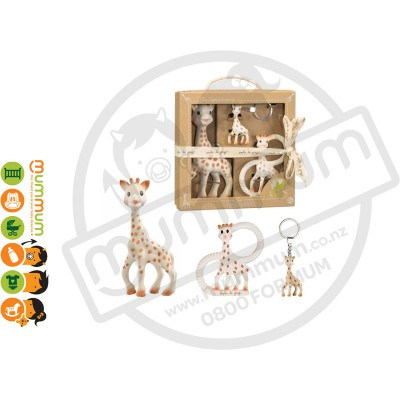 So' Pure Sophie the Girafe Trio Gift Pack Teething Teether
