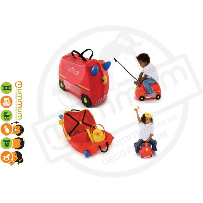 Trunki Ride On Case Frank The Fire Truck